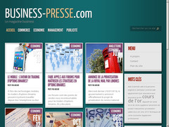 Détails : Le magazine business et finance